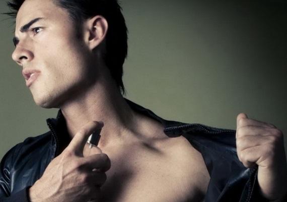 男性香氣示意圖