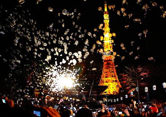 東京跨年示意圖