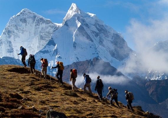 登山示意圖