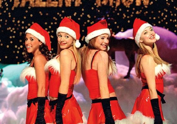 聖誕節美女唱歌