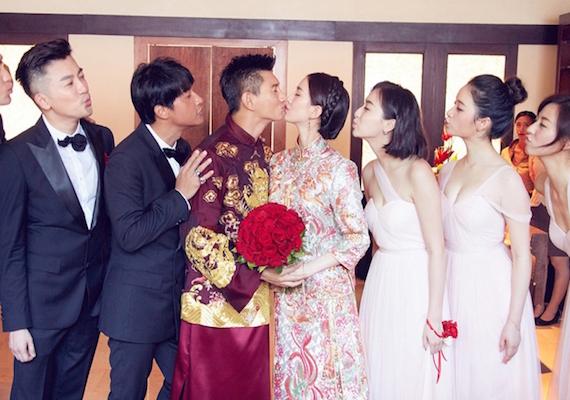 吳奇隆、劉詩詩婚禮圖