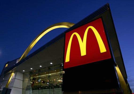 麥當勞示意圖