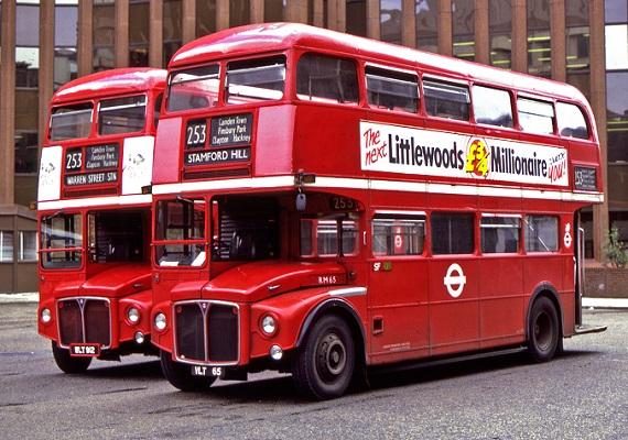 雙層巴士示意圖