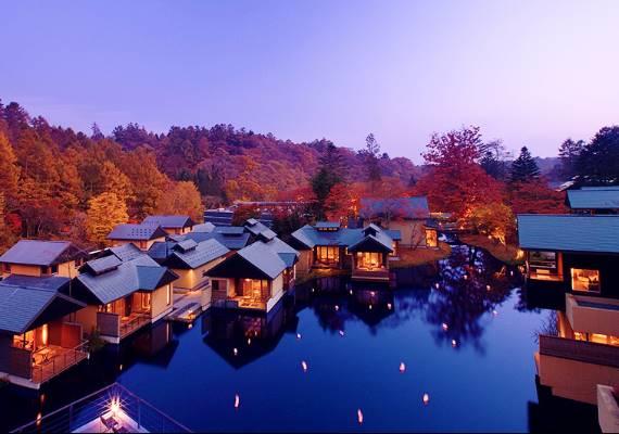 日本飯店示意圖