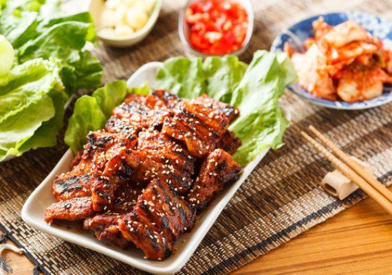 韓國泡菜尬烤肉