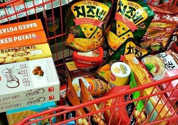 韓國泡麵&零食