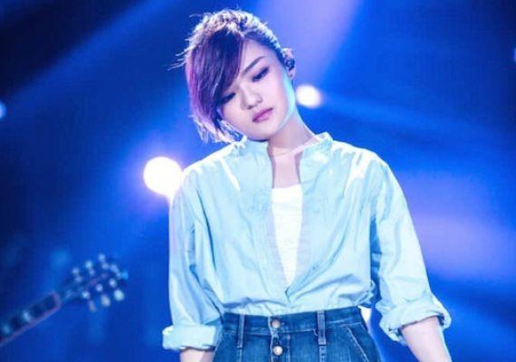 徐佳瑩參加歌手比賽