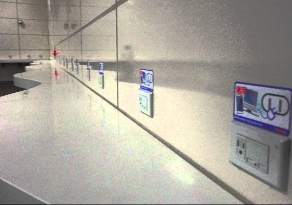 捷運站充電區