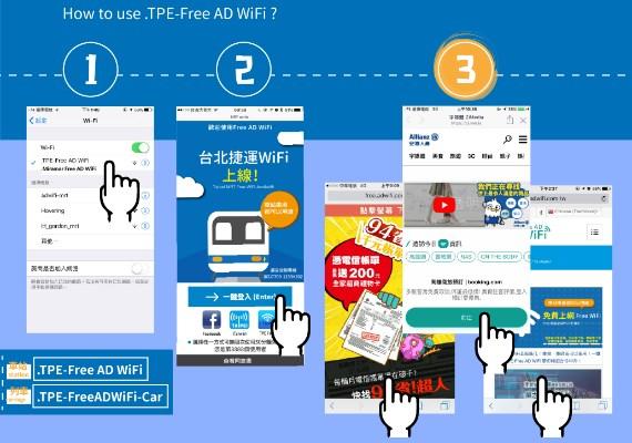 台北捷運WIFI