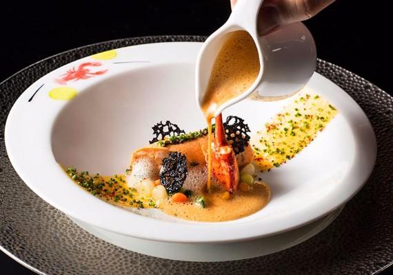 侯布雄法式餐廳-龍蝦