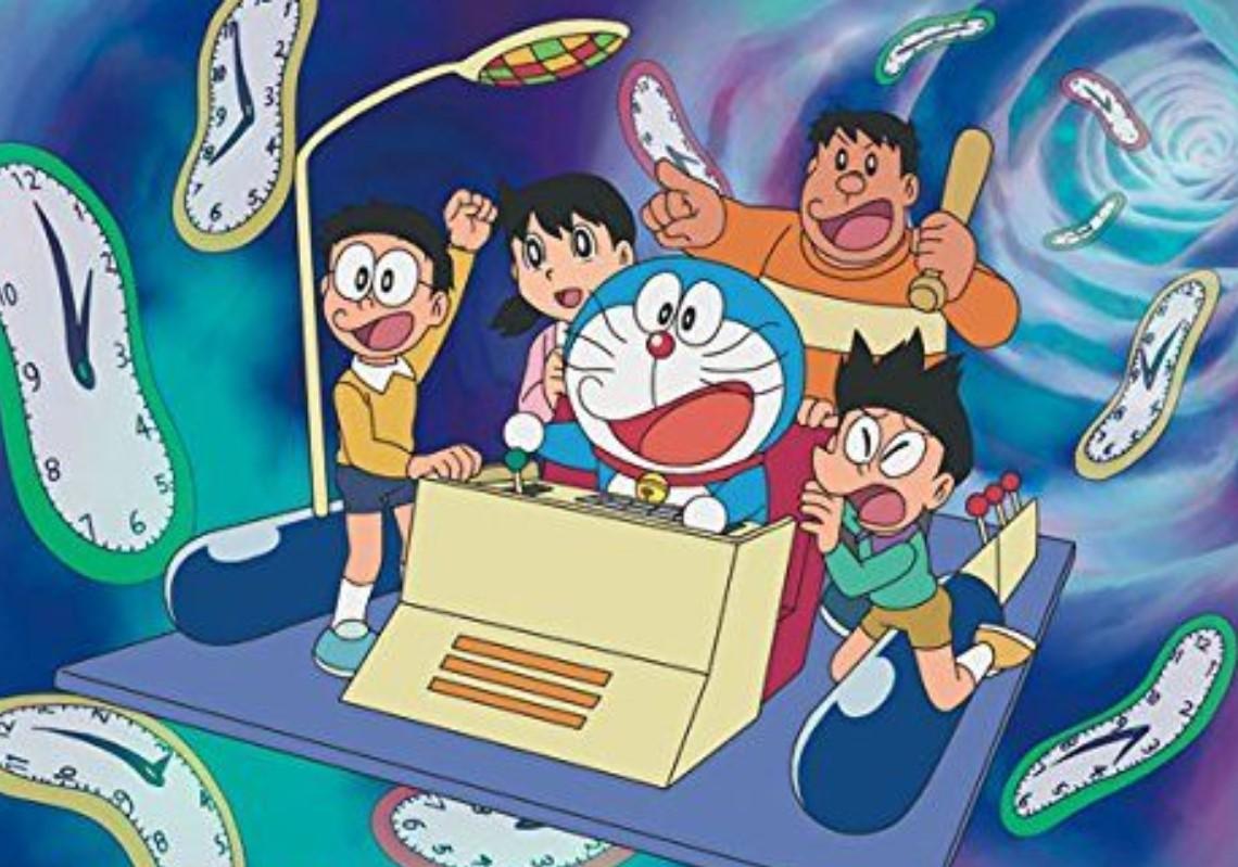 哆啦A夢,時光機
