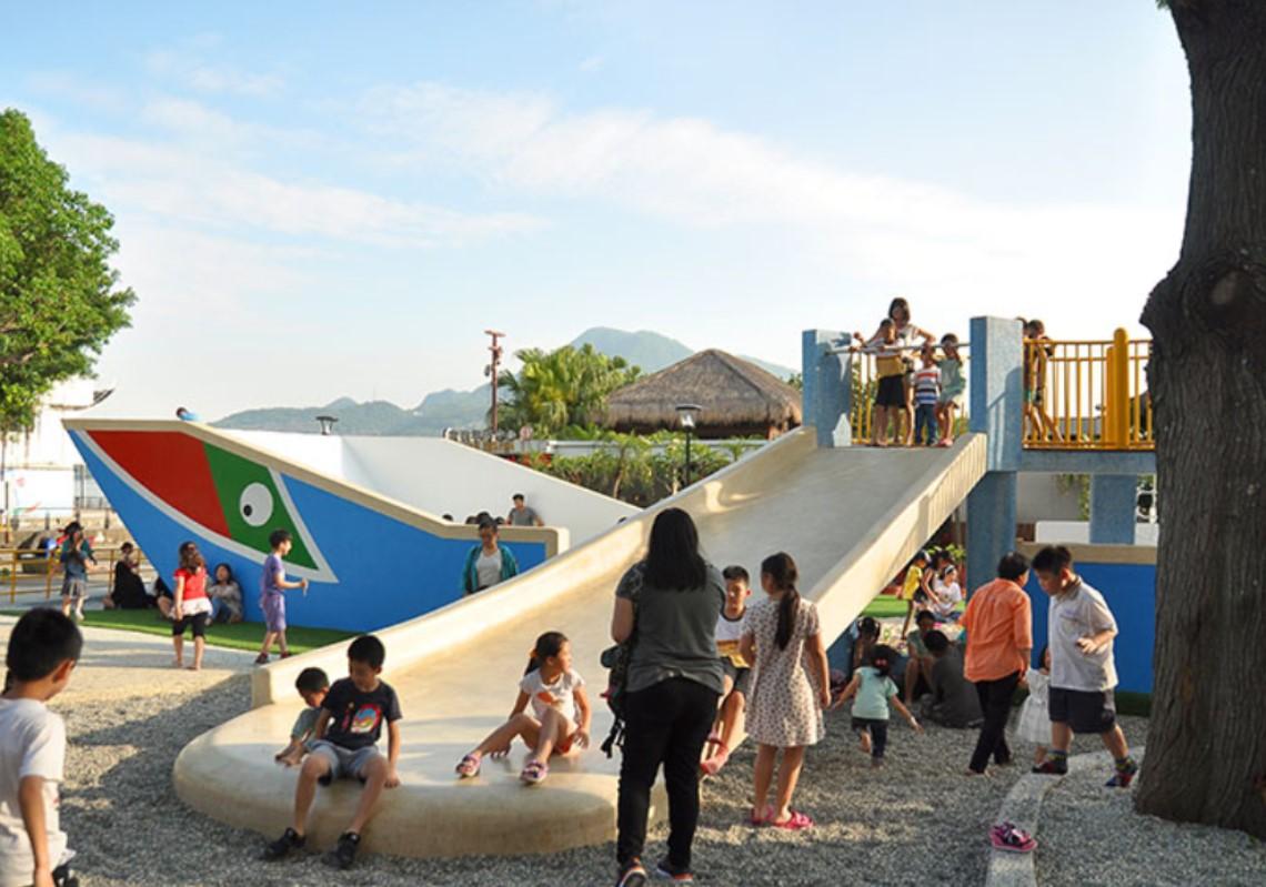 親子共遊商圈-共融式遊樂場