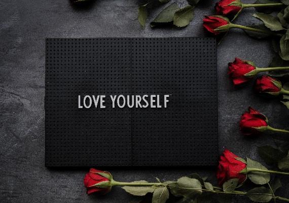 浪漫 愛自己 示意圖