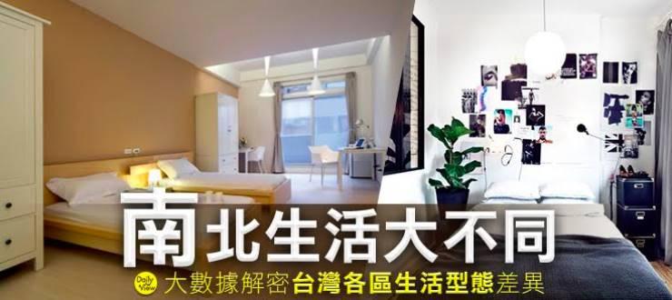 南北生活大不同!大數據解密台灣各區生活型態差異