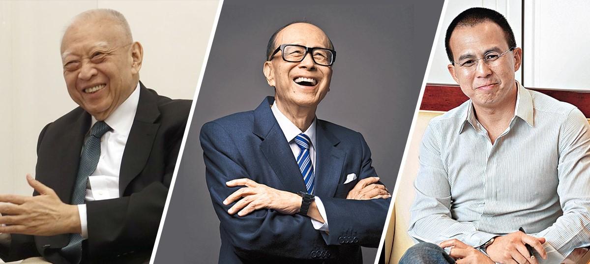 你最想邊個做你老竇 香港10大霸氣富豪排行榜俾你揀!