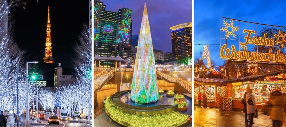 網友熱議的5大國際聖誕節活動來了!快帶另一半去浪漫過節
