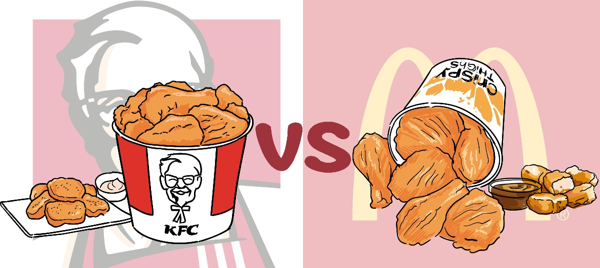 KFC有「麥樂雞」,麥當勞又有「桶餐」?兩大快餐店對抗再升級