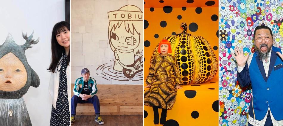別只知道奈良美智!網友熱議15大日本當代藝術家 療癒、前衛台人都愛