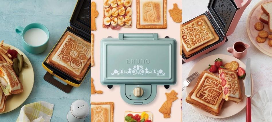 香甜輕鹹都能壓出美味!網路最夯「熱壓吐司、鬆餅機」品牌Top 10