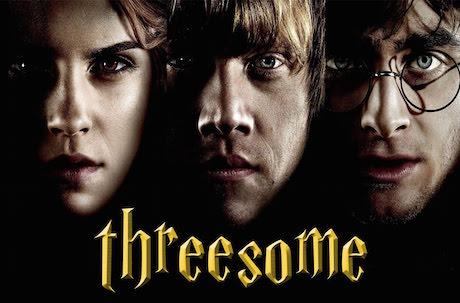 【深夜成人限定】不一樣的哈利波特!哈利波特三人組3P是什麼樣子?