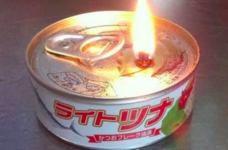 不只能吃還可以拿來做蠟燭?你一定要知道的鮪魚罐頭用法!