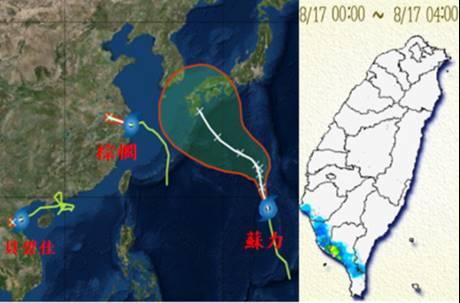 一分鐘看懂台灣多邊緣!連續10個颱風擦邊而過 氣象專家揭關鍵原因
