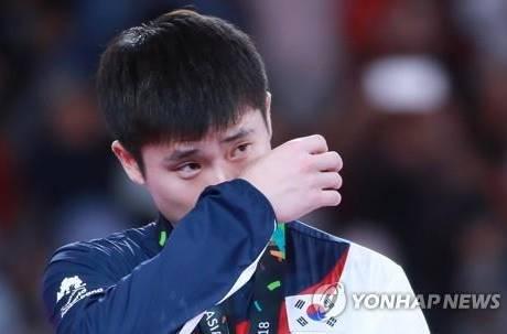 亞運根本假掰大賽?南韓選手「沒禮貌」丟金淚崩 台網友罕見幫Q:狗屁規則!