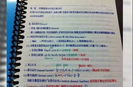 行走的印表機!被網友讚爆的求學筆記是你捨得丟嗎?
