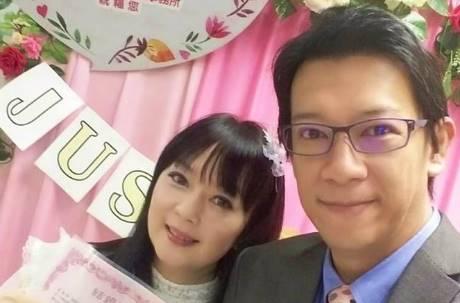 恭喜!熱血主播徐展元娶了大學同學谷懷萱 相識28年公證結婚