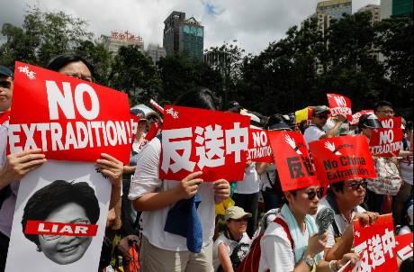 《反送中》抗議再延燒!香港逾百家企業發起罷工罷課罷市活動