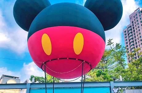 迪士尼攻台7大打卡點萌爆!全台首座巨型「米奇熱氣球」在這