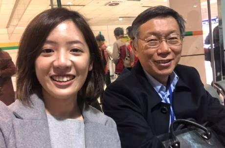 「學姊」黃瀞瑩驚傳遭柯P愛將性騷擾 劉嘉仁:僅討論公務