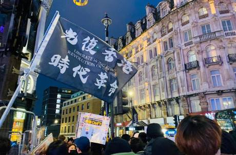 感恩節大禮!川普簽署「挺香港人權法」 今晚中環集會