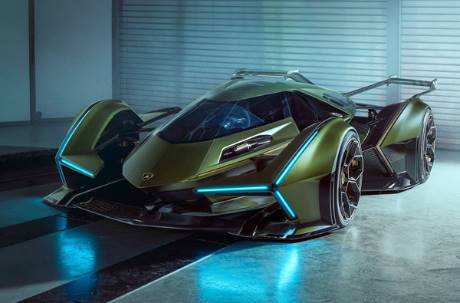 童年的夢想成真了!藍寶堅尼真的做出「閃電霹靂車」