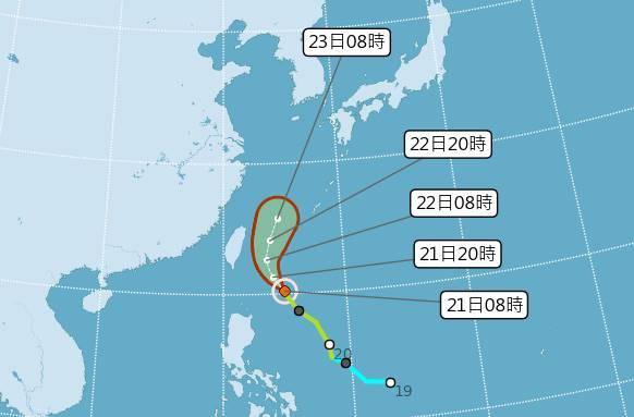颱風「鳳凰」路經往東偏 氣象局不排除發海警