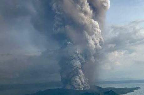 菲律賓火山瀕臨爆發 馬尼拉機場暫時關閉