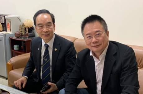 蔡正元否認威脅王立強 公布錄音檔:像大哥哥一樣對待他