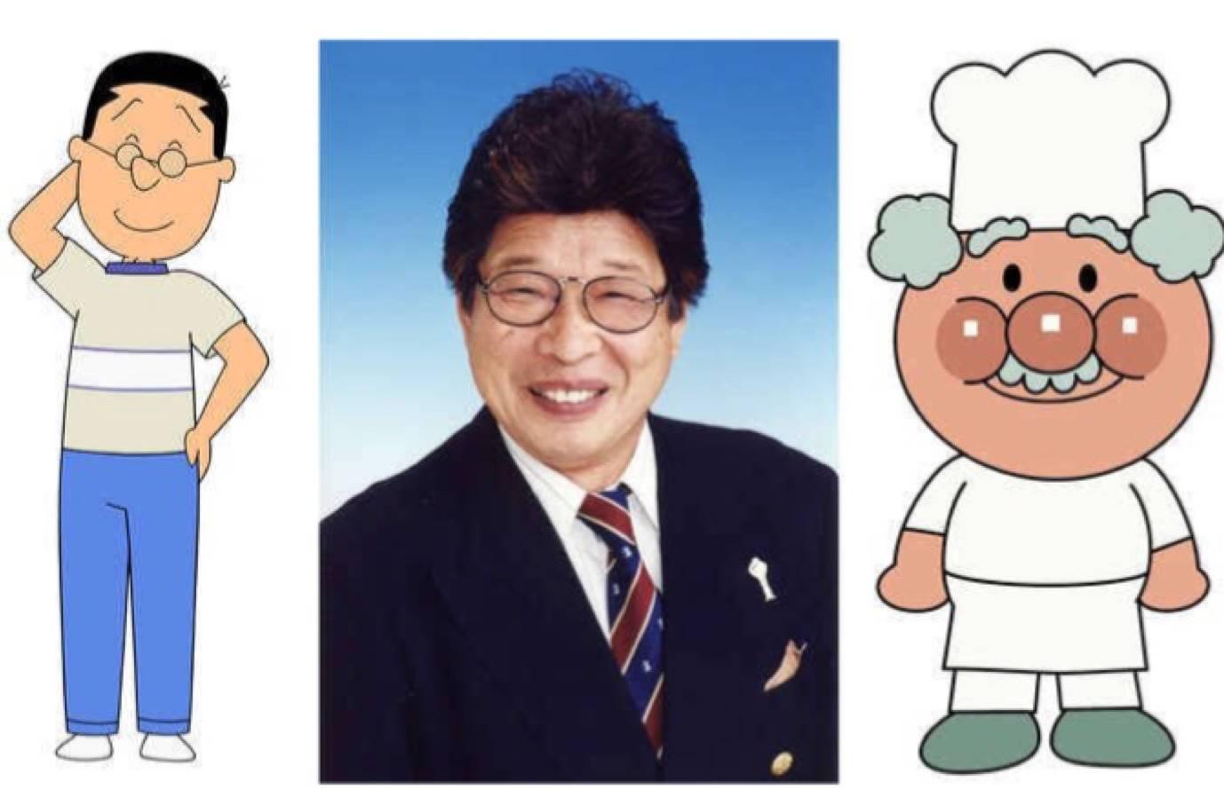 為《麵包超人》果醬爺爺配音 聲優增岡弘直腸癌病逝