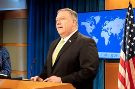 美國國務卿宣布「香港不再自治」 將收回對港特殊待遇