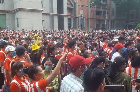 台資越南鞋廠外連日「暴動求工作」!業者坦言:6到8月幾乎停工