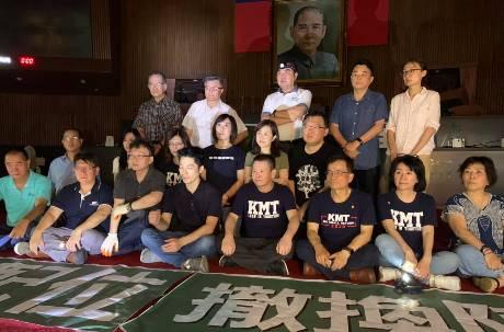 國民黨20立委突襲「佔領立院」 確定留宿要求開燈、開冷氣