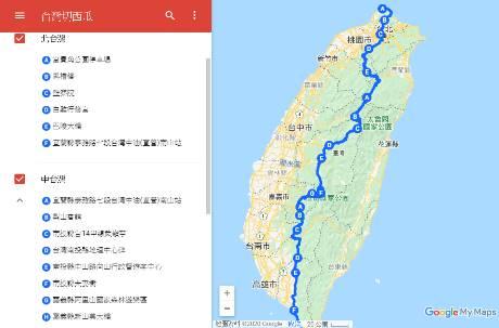 你敢挑戰嗎?台灣環島挑戰「切西瓜」路線 山路佔一大半