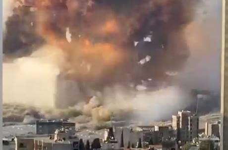 黎巴嫩首都港口大爆炸!官方證實78人死近4000人傷