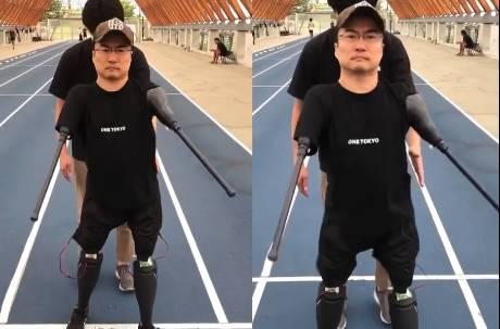乙武洋匡可以走路了!試穿高科技義肢影片曝光