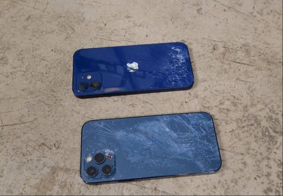 蘋果新機耐摔實測 不鏽鋼材質中框的「它」更耐摔!
