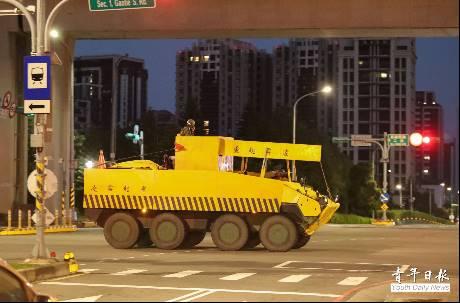國軍戰備週曝光「偽工程」甲車欺敵術 鄉民傻眼:現在全世界都知道了