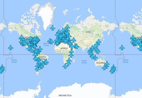 旅行家一定要收藏!各國機場的Wi-Fi密碼地圖!