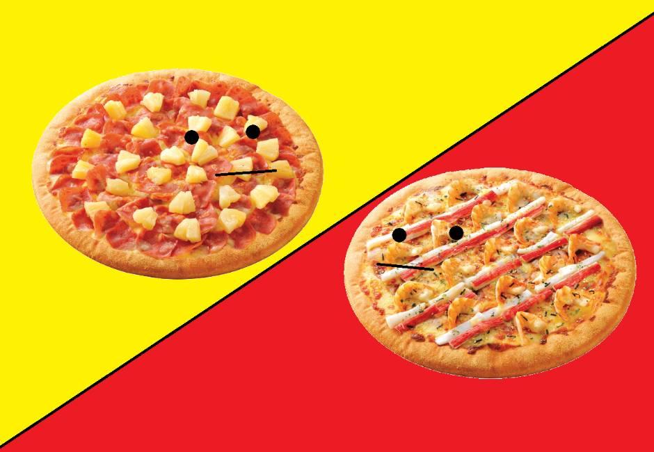 網友問最難吃的披薩口味是?意外引來「夏威夷」狂粉開戰啦!