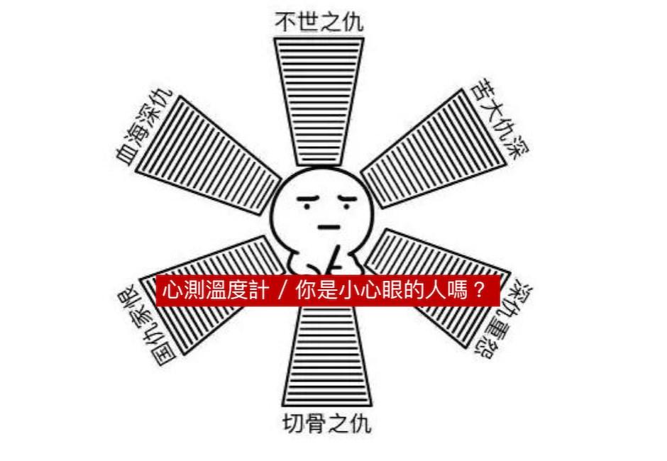 心測溫度計/我只是記性好哪裡愛記仇?測你是否小心眼