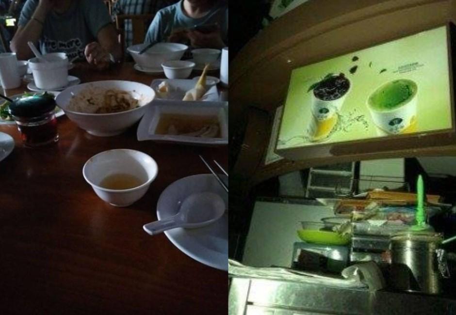 台北信義傳二度大停電!101、新光三越陷漆黑 台電:無關缺電